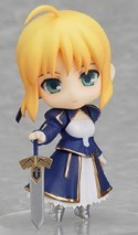 Fate Stay Night 3'' Saber Classic Trading Figure Type Moon Collection