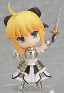 Fate Stay Night 3'' Saber Lily Trading Figure Type Moon Collection