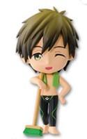 Free! - Iwatobi Swim Club 3'' Makoto Chibi Kyun Prize Figure