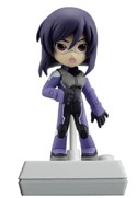 Gundam 00 3'' Tieria Voice Doll Trading Figure Series 2