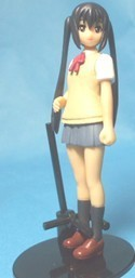 K-On 3'' Azusa Summer Uniform Gashapon Trading Figure