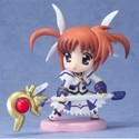 Magical Girl Lyrical Nanoha 3'' Transformed Nanoha Trading Figure