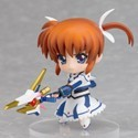 Magical Girl Lyrical Nanoha 3'' Transformed Nanoha Nendoroid Petit Trading Figure