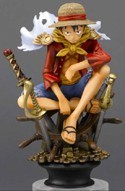 One Piece 4'' Luffy Chess Piece Trading Figure
