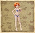 One Piece Swimming Half Age 4'' Nami Trading Figure