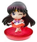 Sailor Moon Deformaster Petit Vol. 1 Sailor Mars Winking 2'' Trading Figure