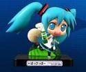 Vocaloid 3'' Miku w/ Drink Vignette Sega Prize Trading Figure