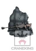 Sword Art Online Sinon's Gun and Base Prize Accessories
