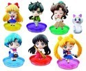 Sailor Moon Limited Edition 2'' Deformaster Petit Vol. 3 Trading Figure Artemis Ver. Set