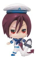 Free! - Iwatobi Swim Club 3'' Rin Deform Vol. 2 Prize Figure