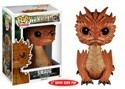 The Hobbit Smaug Large Pop Vinyl Figure Black Eyes Version