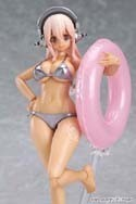 Super Sonico 6'' Tan Bikini Figma Action Figure