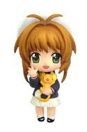 Card Captor Sakura 3'' School Uniform Sakura Trading Figure