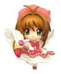 Card Captor Sakura 3'' Pink Dress Sakura Trading Figure