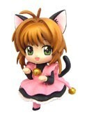 Card Captor Sakura 3'' Cat Costume Sakura Trading Figure