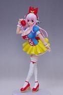 Super Sonico 8'' Snow White Ver. Prize Figure