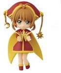 Card Captor Sakura 3'' Sakura Red and Gold Costume Banpresto Prize Figure