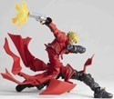 Trigun Vash the Stampede Red Ver. Revoltech Action Figure