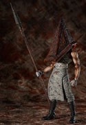 Silent Hill 6'' Red Pyramid Head Figma Action Figure