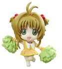 Card Captor Sakura Cheerleading Outfit Petit Chara Land Trading Figure