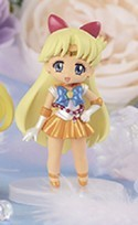 Sailor Moon 3'' Sailor Venus Shiny Atsumete for Girls Banpresto Prize Figure