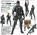 Metal Gear Solid Snake MGS2 Ver. Figma Figure