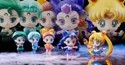 Sailor Moon and 4 Sisters Petit Chara Land Figure Set