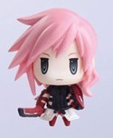 Final Fantasy XIII 1.5'' Lightning Trading Arts Mini Trading Figure