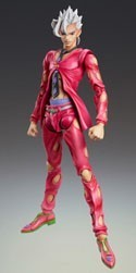 Jojo's Bizarre Adventures Pannacotta Fugo Medicos Action Figure