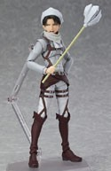 Attack on Titan 6'' Levi Figma Cleaning Ver. Exclusive Action Figure