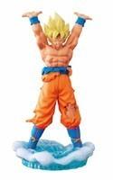 Dragonball Z 4'' Super Saiyan Goku Spirit Bomb Ver. Capsule Returns Trading Figure