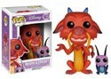 Disney Mulan Mushu & Cricket Funko Pop Figure #167