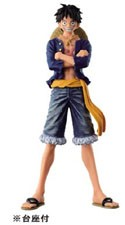 One Piece 8'' Luffy Blue Jeans Freak Banpresto Prize Figure