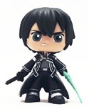 Sword Art Online Anime Mystery Mini 3'' Kirito Funko Figure
