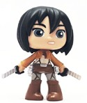 Attack on Titan Anime Mystery Mini 3'' Mikasa Funko Figure