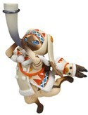 Monster Hunter X Capcom 3'' Uruku Airou Trading Figure