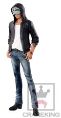 One Piece 6'' Trafalgar Law Black Ver. Jeans Freak Banpresto Prize Figure