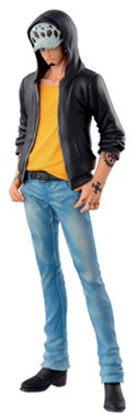 One Piece 6'' Trafalgar Law Blue Ver. Jeans Freak Banpresto Prize Figure