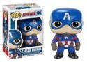 Captain America Civil War Captain America Funko Pop Figure #125