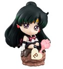 Sailor Moon 2'' Sailor Pluto Ice Cream Party Petit Chara Land Trading Figure