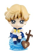 Sailor Moon 2'' Sailor Uranus Ice Cream Party Petit Chara Land Trading Figure