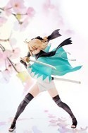 Fate Stay Night Saber Souji Okita Version 1/8 Scale Aquamarine Figure