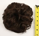 Scrunchie Puff - Chocolate Brown