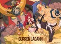 Tengen Toppa Gurren Lagann Group Wall Scroll (only available to U.S. Customers)