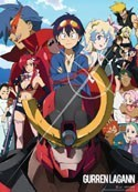 Tengen Toppa Gurren Lagann Group Wall Scroll