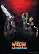 Naruto Shippuuden Akatsuki Wall Scroll