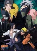 Naruto Shippuden Group Wall Scroll