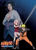 Naruto Shippuden Naruto, Sakura and Sasuke Wall Scroll