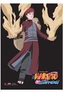 Naruto Shippuuden Gaara Wall Scroll