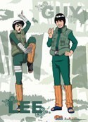 Naruto Shippuuden Guy and Rock Lee Wall Scroll
